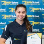 Una starts her career path, thanks to BUSY Schools